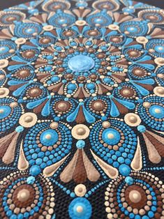 Mandala dot Dotting Puntillismo Dot art Mandala canvas | Etsy Mandela Rock Painting, Stone Art Painting, Dot Art Painting, Painting Patterns, Mandala Canvas, Mandala Artwork, Mandala Painting, Aboriginal Dot Art, Mandala Art Lesson