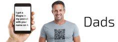 The QR Code T-Shirt for Gay #GayDads & #GayTwinks #NewGayCode