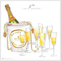 LUST LIST | On the 5th Day of Christmas the Lust List Drew for me…. 1 x Kate Spade, 'Place Your Bets Champagne Bucket Tote'