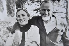 "Edith and Franck Schaeffer. Link to Edith's obituary (she died April 7, 2013). Highly recommend her son, Frank's books ""Crazy for God,"" and ""Mom, Sex, and the Bible,"" for an in-depth look at this complex couple and how they were unwittingly caught up as part of the new Christian Right movement. Very interesting."