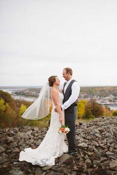Fall Upper Peninsula Wedding Photo By Riutta Images