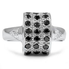 18K White Gold The Alpha Ring