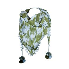 I love the Echo Patterned Triangle Scarf from LittleBlackBag
