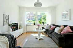 Open airy living space