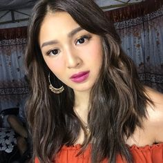 Hairstyle for Up MV (paulnebres IG) Filipina Actress, Nadine Lustre, Jadine, Sweet Couple, Best Actress, Strong Women, Singer, Actresses, Female
