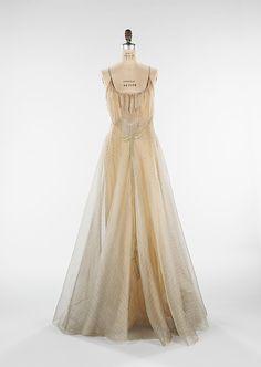 """Women in Love"", Designer: Elizabeth Hawes (American, Ridgewood, New Jersey 1903–1971 New York) Date: 1938 Culture: American Medium: silk, metal."