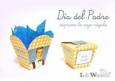 DIY imprime gratis una caja regalo para galletas caseras
