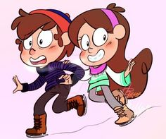 DeviantArt: More Like Dipper and Mabel Pines by SilberSternenlicht