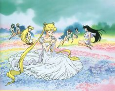 Princess Serenity & The Scouts