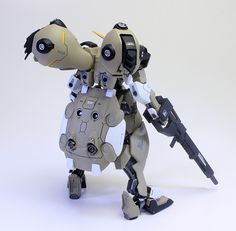 TAI's Factory HGIBO 1/144 GUNDAM GUSION REBAKE painted build Review: No.17 Big Size Images