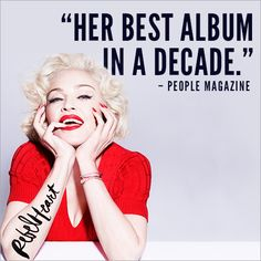 Madonna's poured her heart into her new album #RebelHeart #o2o