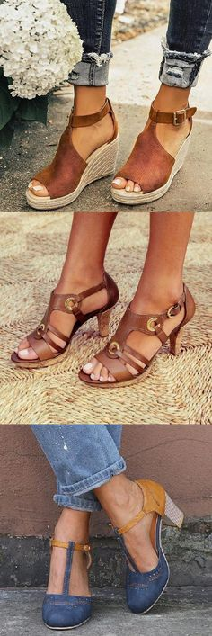2020 New Trendy Sandals Shoes Cute shoes - Fashion Shoes, Fashion Accessories, Fashion Outfits, Fashion Jewelry, Cute Shoes, Me Too Shoes, Trendy Fashion, Womens Fashion, Fashion Trends