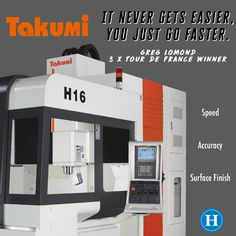 The Takumi H16 designed for parts that require outstanding speed, accuracy and surface finish. Extremely rigid and thermally stable double column design. High speed direct drive Spindle up to 15,000 rpm. www.humstonmachinery.com • • • • #Takumi #TakumiCNC #CNC #DoubleColumn #CNCMachine #Fanuc #HumstonMachinery #Indiana #Distributor #TakumiHumstonMachineryDistributor #Hurco #Fryer #Mazak #Okuma #DMGMori #Haas #Johnford #InstaMachinist #MachineShop #MoldShop