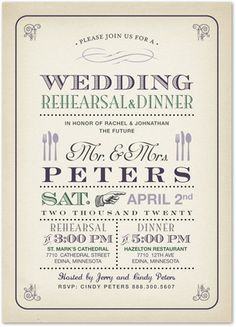 37 best rehearsal dinner invitations images rehearsal dinners