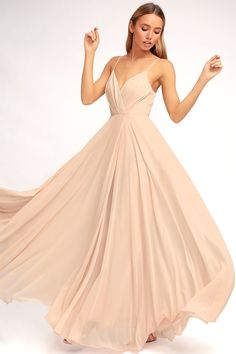 All About Love Blush Pink Maxi Dress 1