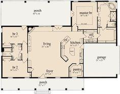 split bedrooms