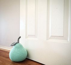 crochet fruit patternapple pear strawberry by HandmadeSolutions $6.95