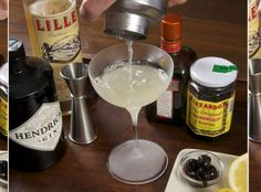 Corpse Reviver #2.  Gin, Lillet, cointreau
