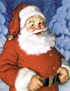 Santa I want to china paint some day