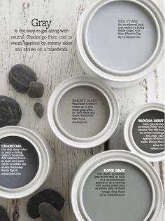 Color Personality: Stony Grays