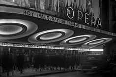 Horacio Coppola Teatro Ópera.