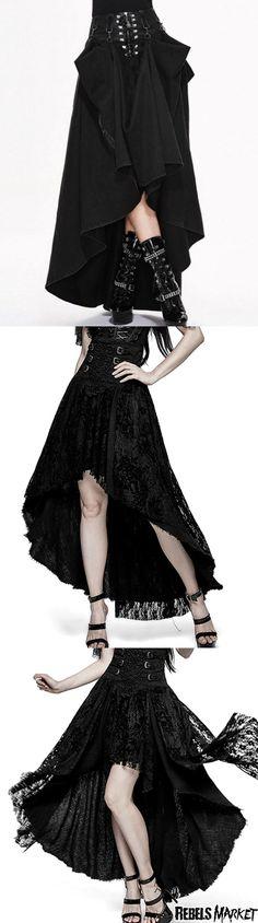 50c1d199584 Shop goth skirts at RebelsMarket.  GothicFashion Goth Clothing Stores