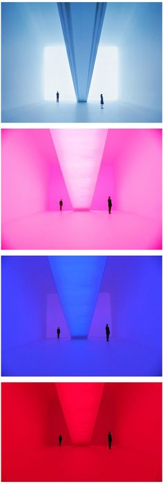 """James Turrell Bridget's Bardo """"Ganzfeld"""": a German word to describe the phenomenon of the total loss of depth perception as in the experience of a white-out http://jamesturrell.com/artwork/bridgets-bardo/"""