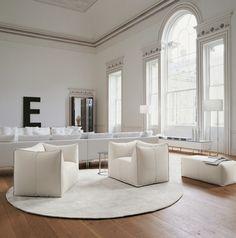 Fotele i sofy Le Bambole B&B Italia, Mario Bellini