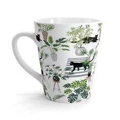 Plants And Cats Gift Cat Lover Gift Crazy Plant Lady Gift For