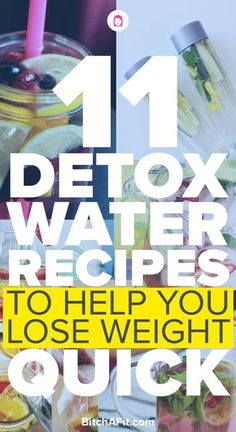 POPSUGAR - Catherine Rundell - POPSUGAR Looking for some detox water recipes that will help you lose weight? Here are 11 detox water recipes that will clear your skin flush toxins increase metabolism and make you feel great. Weight Loss Detox, Fast Weight Loss, Lose Weight, Fast Metabolism Diet, Metabolic Diet, Detox Tee, Under 300 Calories, Detox Plan, Water Fasting