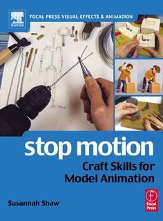 Stop Motion puppet, set, sketches