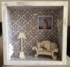 Paula Crafting: A life in a box (shadow box art)
