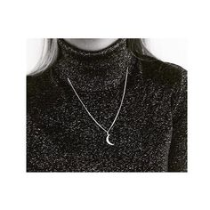 Dress it up with our large moon necklace!  #bluebillie #girlsinblue #moon #jewelrybrand #jewelry #scandinaviandesign