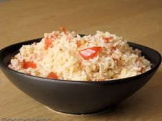 Ginger & Garlic: Spanish rice