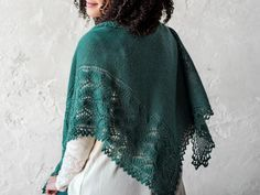 Don't let your hand knit shawls sit in your closet. Discover seven creative ways to style your shawls and get more use out of them.