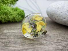 Vadvirágok műgyanta gyűrű Gemstone Rings, Silver Rings, Gemstones, Jewelry, Jewlery, Gems, Jewerly, Schmuck, Jewels