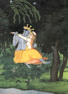 Radha & Krishna Yearning Union