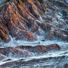 Photograph Valle de la Luna lookout, Cordillera de la Sal, Atacama desert by Ignacio Palacios on 500px