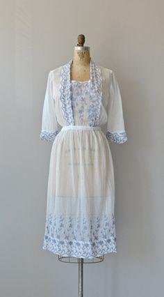 Ode to June dress antique Edwardian cotton dress by DearGolden