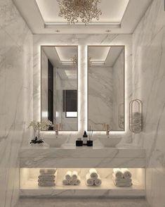 Home Room Design, Dream Home Design, Decor Interior Design, Interior Decorating, House Design, Modern Interior, Interior Photo, Marble Interior, Interior Architecture