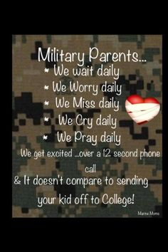 Gallery For > Proud Army Mom Quotes Army Mom Quotes, Military Quotes, Military Mom, Military Honors, Son Quotes, Military Personnel, Marines, Usmc, Marine Mom