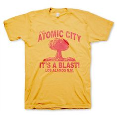 Atomic City Tee now featured on Fab.