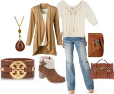 "LOVE this!  Cozy & warm for chilly weekends or casual workdays. ""Boho Weekend - Plus Size"" by intcon on Polyvore"