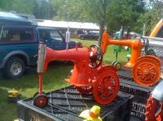 Image result for recycled sewing machines