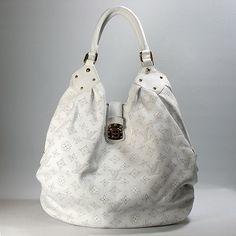 louis vuitton handbag white - Google Search #bags #fashion