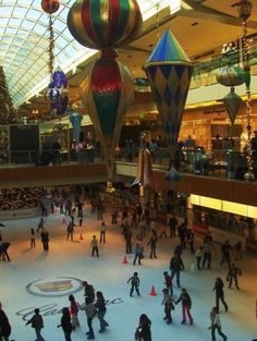 Houston, Texas - shopping mecca!  The Galleria is my favorite of all times!!!!