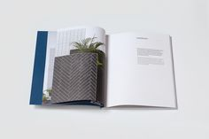 """Harmony Product Catalog Design by Jara van Herpt """"Harmony is a Spanish brand of ceramics based in Onda (Castellón). We changed the direction of the brand giving to it a younger and fresher feeling. The visuals (real life collages) were photographed..."""
