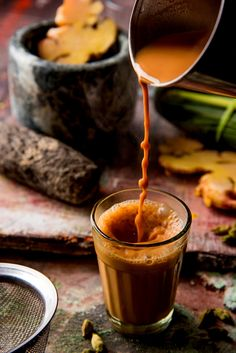 When the weather is crappy in the middle of summer a cup of hot Ayurvedic tea fi. Tea Recipes, Indian Food Recipes, Ayurvedic Tea, Tea Wallpaper, Nature Wallpaper, Kerala Food, Good Morning Coffee, Food Photography, Portrait Photography