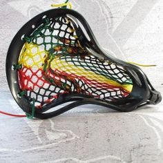 wax lax mesh | Limited Edition LU Zion Wax Mesh Head | from Lacrosse Unlimited