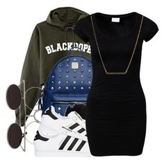 untitled #70 by yani122 on Polyvore featuring polyvore moda style VILA adidas Originals Kate Spade MCM fashion clothing